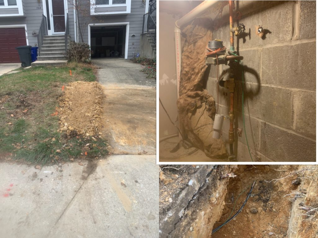 Water Service Replacement - Ellicott City