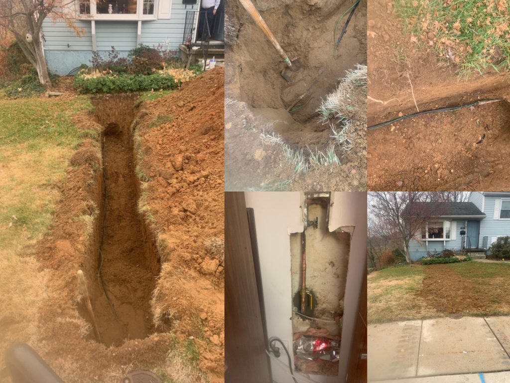 Water Service Replacement - Linthicum