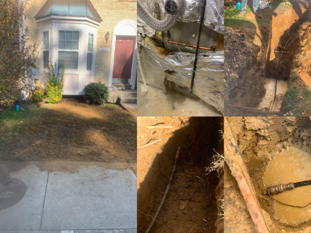 Water Service Repair Arnold