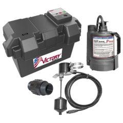 Victory Backup Sump Pump