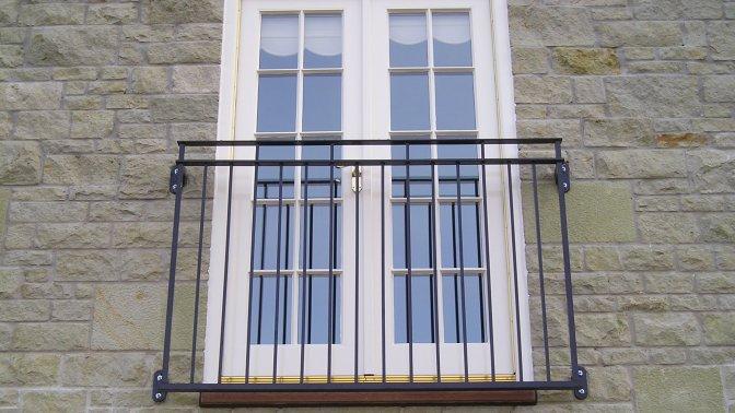 The Byron Juliette Balcony