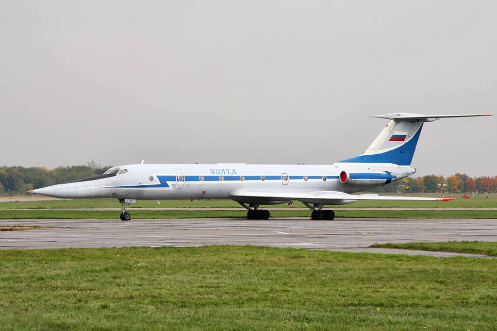 Tupolev Tu-134UBL.