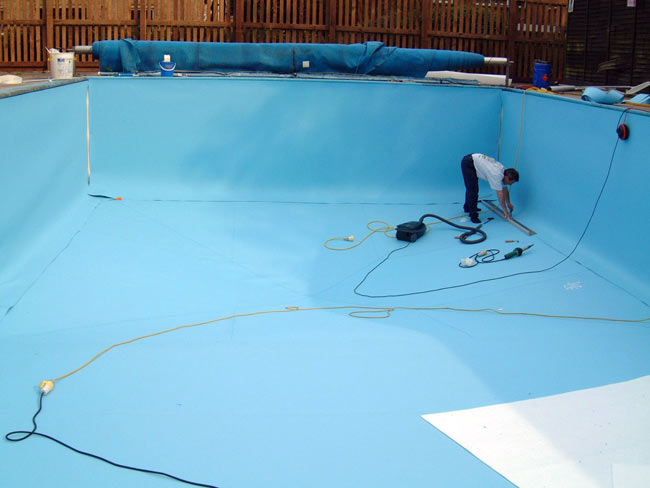 Alpha Roofing Services Ltd  Swimming Pool ReLining Projects