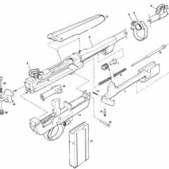 M1 Rifle Diagram Skin Cross Section M2 Carbine Schematic Wiring Diagrams Hubs Sales