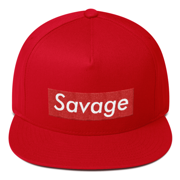 Savage Hat – Savage Cap (Flat Embroidery) - Alpha SQUAD official 2b747692008b