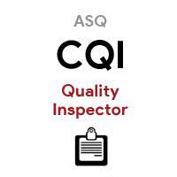 ASQ CQI Certified Quality Inspector
