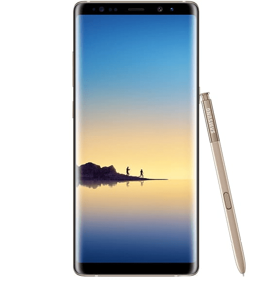 Samsung Galaxy note 8 64Go de mémoire, 1SIM, 6GB RAM