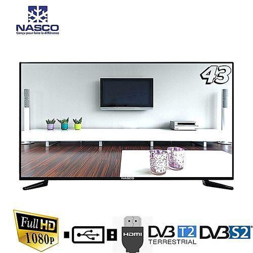 TV LED 43 Nasco - FULL HD 1080 - PORT VGA/HDMI Abidjan Côte D'ivoire