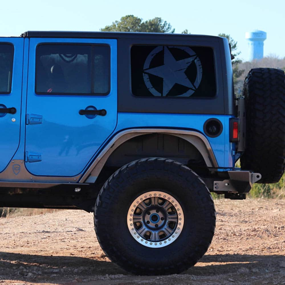 medium resolution of jeep wrangler jk rear window freedom star