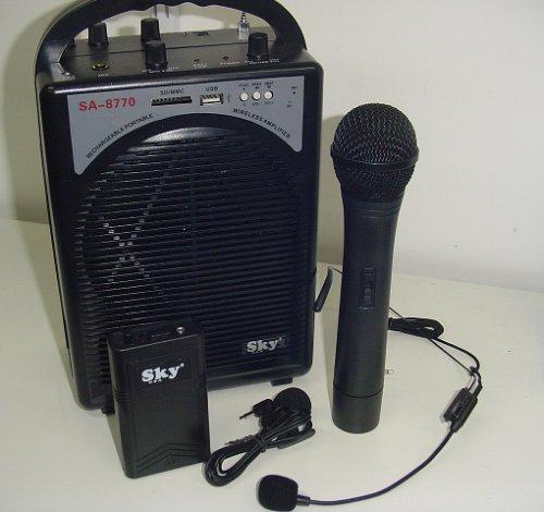8770sas dual wireless microphone