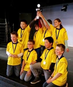 Hobbitburcht winnaar Basisscholenschaaktoernooi 2016