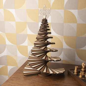 sapin noël bois moderne made in france tendance modulable personnalisable original cadeau