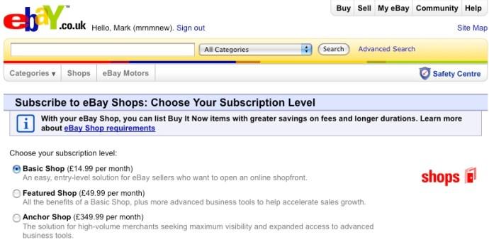 How To Set Up An Ebay Shop