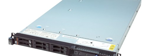 IBM System x3550 M2 - front