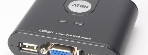 ATEN USB Cable KVM Switch CS22U