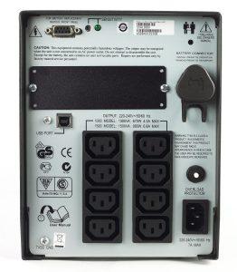 APC Smart-UPS 1000VA rear