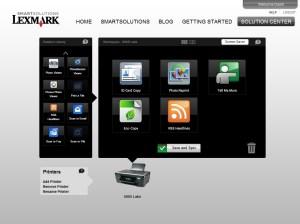 Lexmark configurator