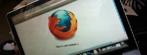 Firefox orientation