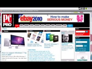 Android netbook webkit browser