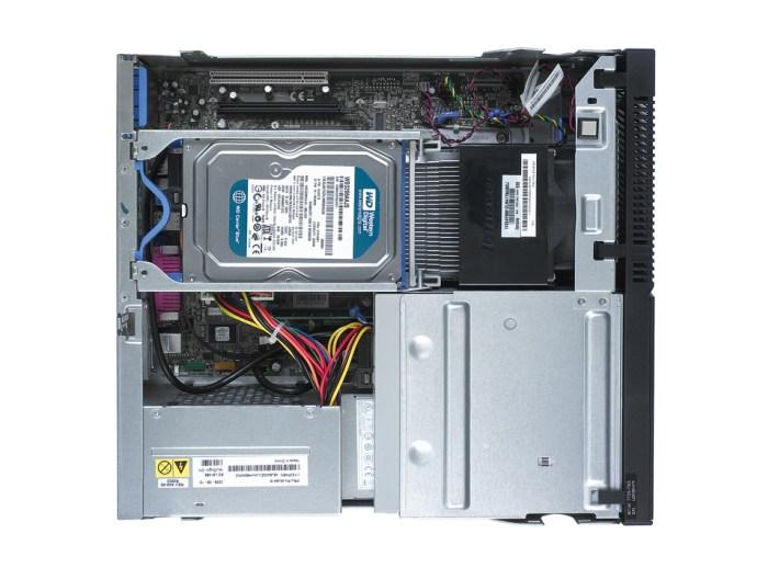 Lenovo ThinkCentre A58 interior