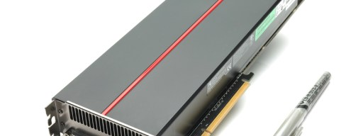 The ATI Radeon HD 5970 - one of the biggest graphics cards we've ever seen