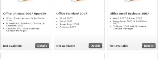 Office 2007 MIA