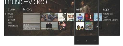 Windows 7 Phone music