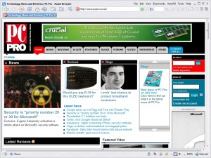 Avant Browser PC Pro homepage