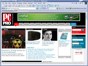 FlashPeak SlimBrowser PC Pro homepage