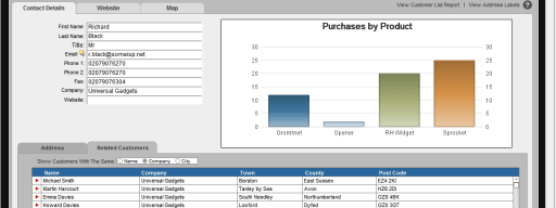 FileMaker Pro 11 charts