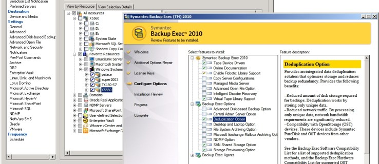 Symantec Backup Exec 2010 review