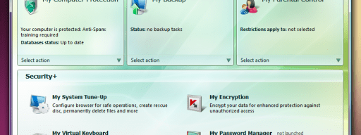 The Kaspersky Pure front-end looks simple, but there's a large range of options hidden beneath