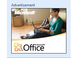Office Starter advert