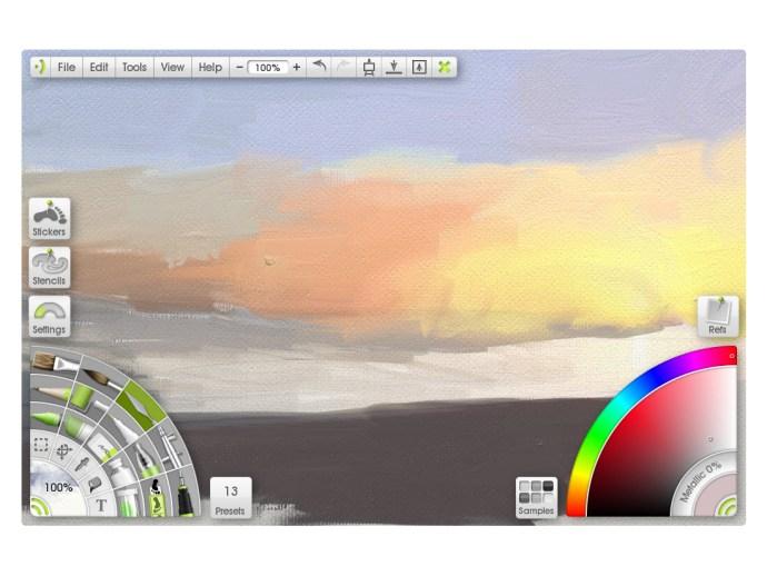 ArtRage Studio Pro 3 - user interface