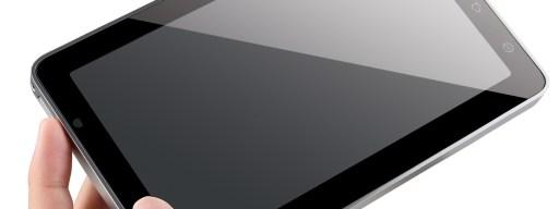 ViewSonic ViewPad 7 in hand