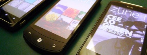 Windows Phone 7 handsets