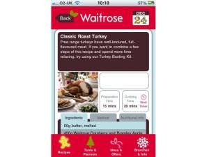Waitrose Christmas App