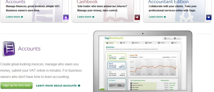 Sage heads to the web to target sole traders