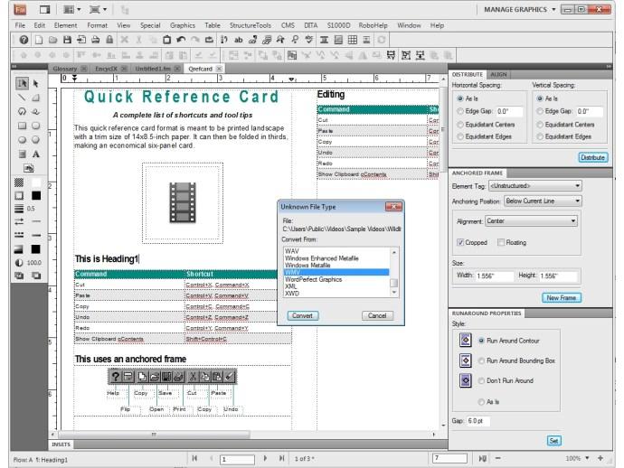 Adobe FrameMaker 10