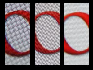 Samsung Galaxy S II - a comparison of screen resolutions