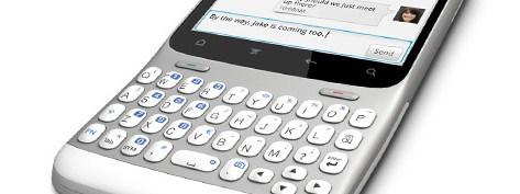 HTC ChaCha - Facebook button
