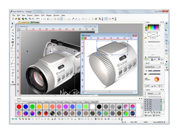 REAL-Draw Pro 5 - vectorbit technology