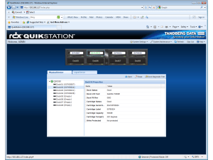 Tandberg Data RDX QuikStation