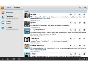 Galaxy Tab 10.1 - Samsung's Social Hub