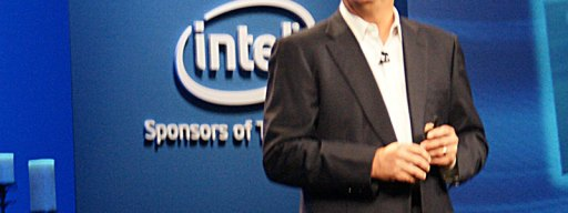 Intel CEO Paul Otellini announces Intel's partnership with Google at his IDF opening keynote