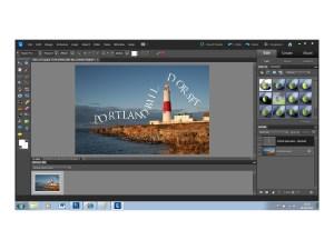 Adobe Photoshop Elements 10 - text path