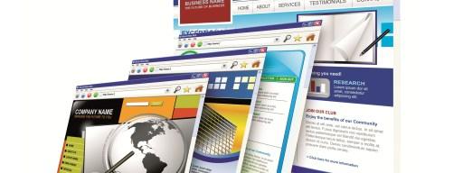 Websites stacked