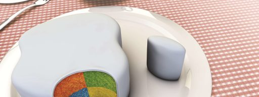 Apple Windows cake