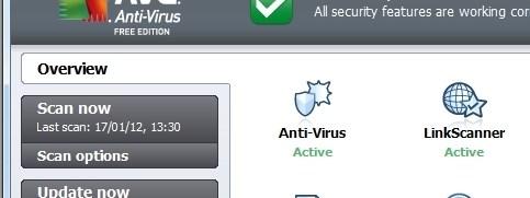 AVG Anti-Virus Free 2012