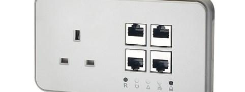 Power Ethernet Socket T1000